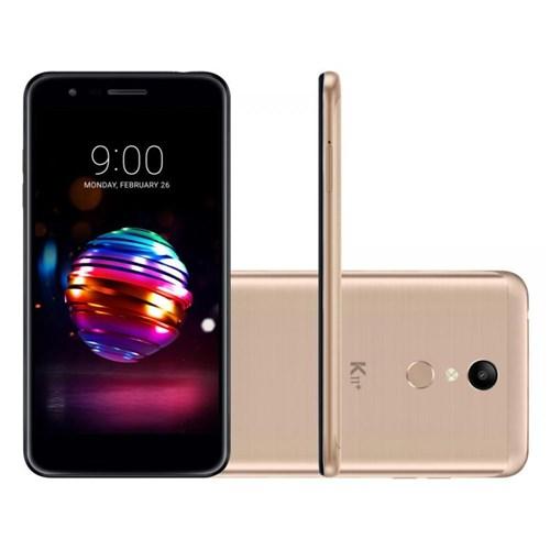 """Smartphone X410 - Dourado, Tela 5.3"""", 32G LG K11+"""