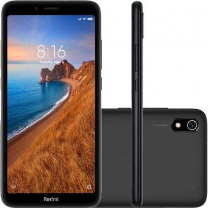 Smartphone / Xiaomi / MI / 7A / 16GB / Tela de 5.45 / Dual Sim - Preto