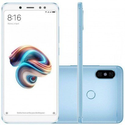 Tudo sobre 'Smartphone Xiaomi Redmi Note 5 64Gb Azul'