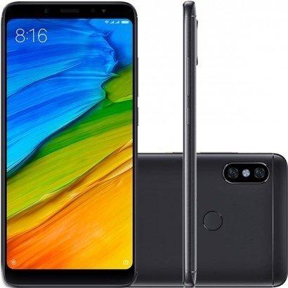 Tudo sobre 'Smartphone Xiaomi Redmi Note 5 64Gb Preto'