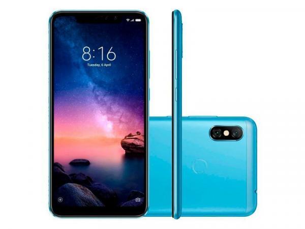 Smartphone Xiaomi Redmi Note 6 Pro 32GB Versão Global - Azul