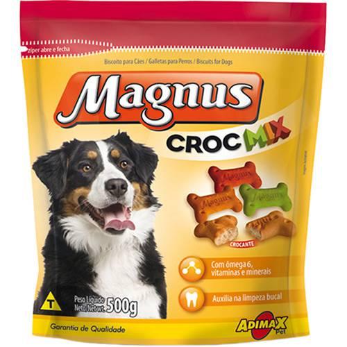 Tudo sobre 'Snack Magnus Croc Mix 500g'