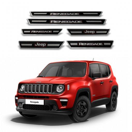 Tudo sobre 'Soleira Portas Jeep Renegade Preta 491'