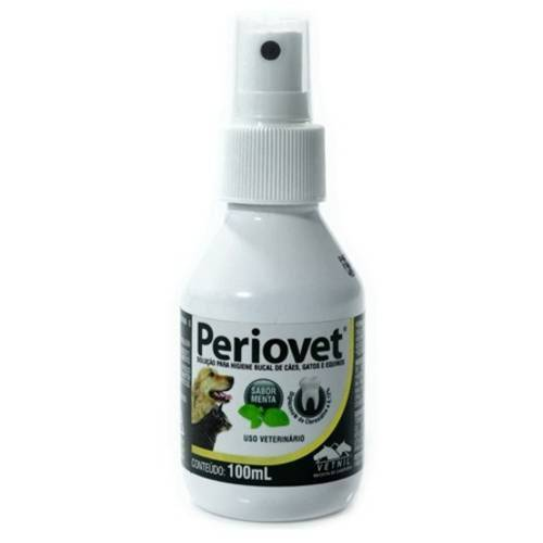 Solução para Higiene Bucal Vetnil Periovet Spray 100 Ml