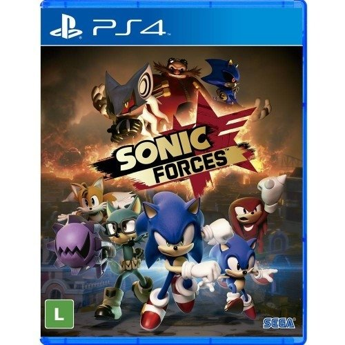 Tudo sobre 'Sonic Forces - Game Ps4'