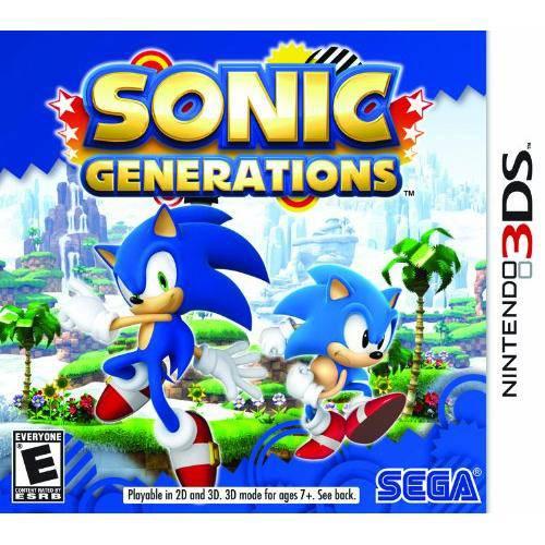 Tudo sobre 'Sonic Generations - 3ds'