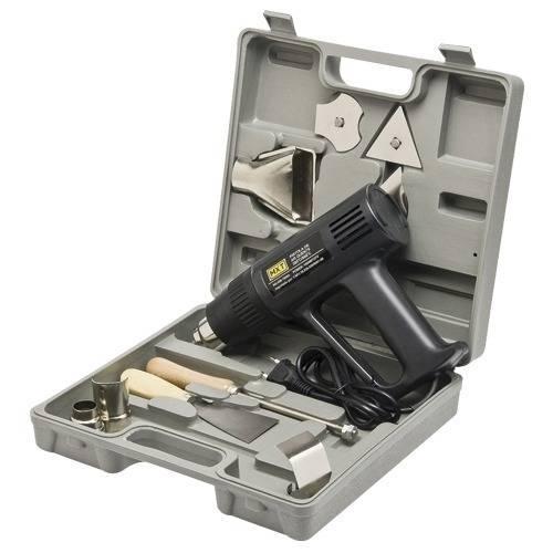 Soprador Termico Pistola Ar Quente 300 a 500º Kit Maleta 127v Ohg-1500a