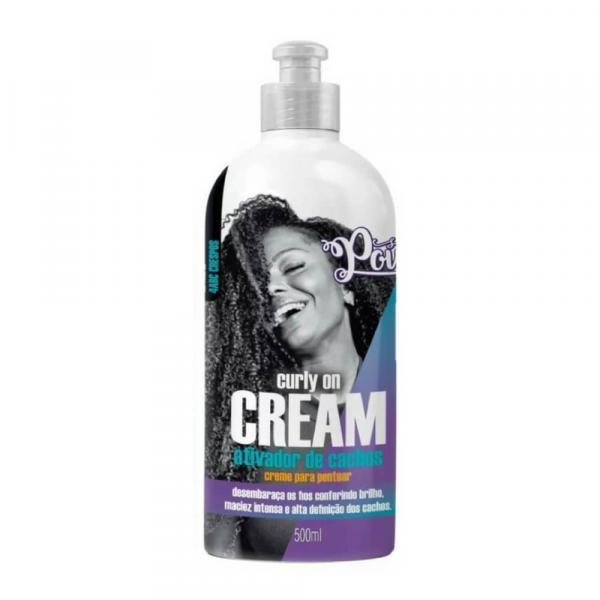 Soul Power Curly On Cream Creme P/ Pentear 500ml