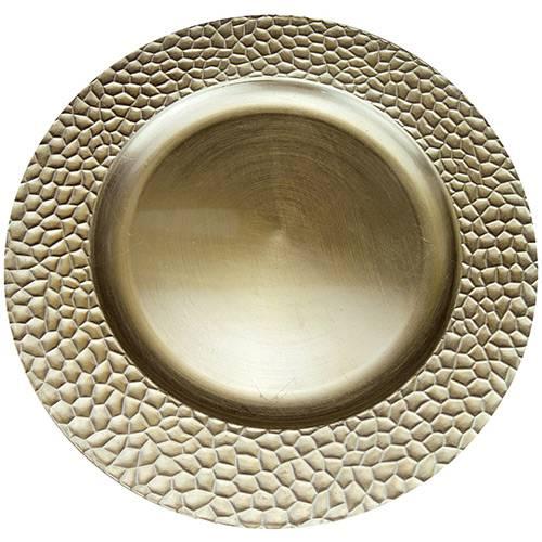 Tudo sobre 'Sousplat Craquelado SP13713 Ouro - Mimo Style'