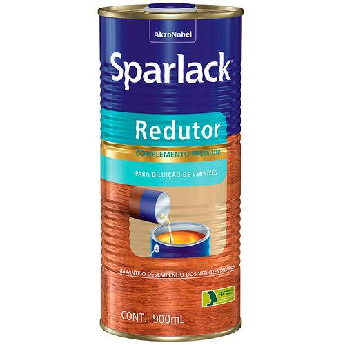 Tudo sobre 'Sparlack Redutor Alquídico 900ml'