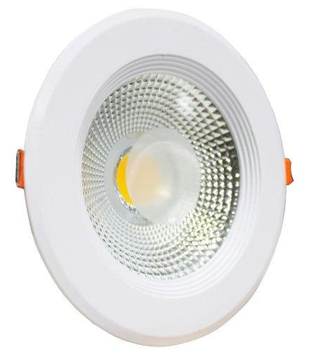 Spot LED COB 30w Embutir Redondo Bivolt Maxtel