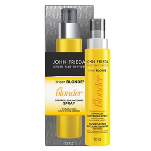 Spray Clareador Go Blonder Controlled Lightening John Frieda Sheer Blonde 103ml