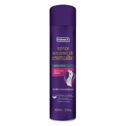 Spray Secante de Esmalte Farmax 400ml