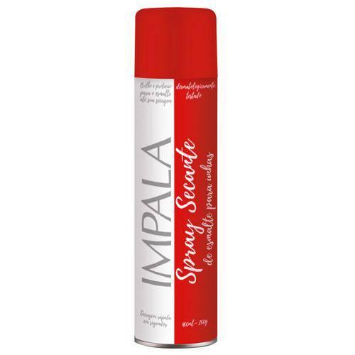 Spray Secante de Esmalte para Unhas/ Desororante 400ml-200g ( Impala)