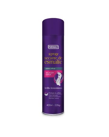 Spray Secante de Esmaltes Farmax 400ml