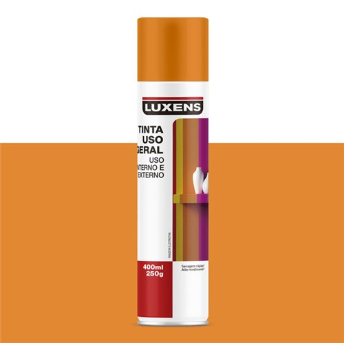 Spray Uso Geral Laranja 400ml Luxens