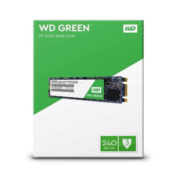 Tudo sobre 'Ssd Wd Green 240gb M.2 - Wds240g1g0b'