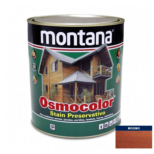 Stain Acetinado Mogno Osmocolor Montana 0,9l