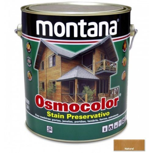Stain Acetinado Natural Osmocolor Montana 3,6l