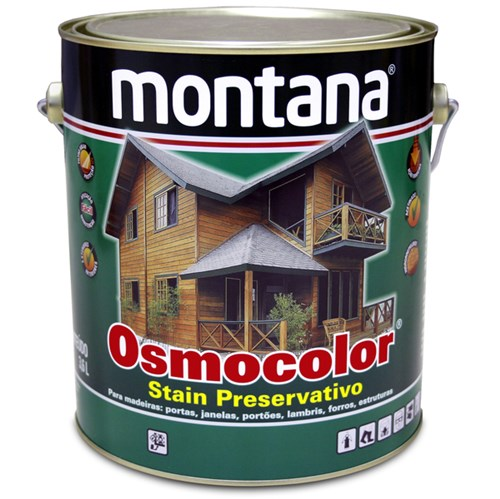Stain Osmocolor Acetinado Incolor 3,6L Montana