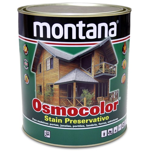 Stain Osmocolor Acetinado Incolor 900ml Montana