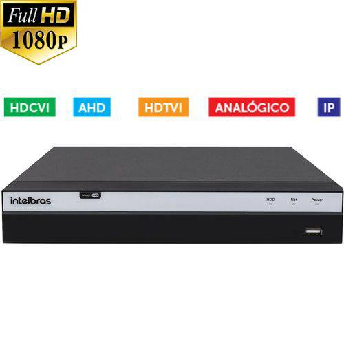 Stand Alone Dvr Intelbras 16 Canais Mhdx 3016 Full HD