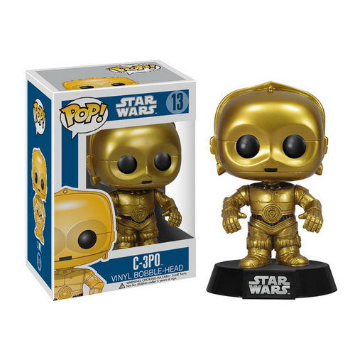 Star Wars C-3PO - Funko Pop Boneco