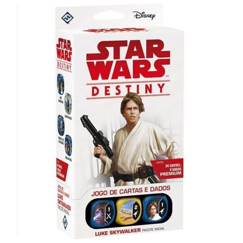 Star Wars Destiny - Luke Skywalker, Pacote Inicial