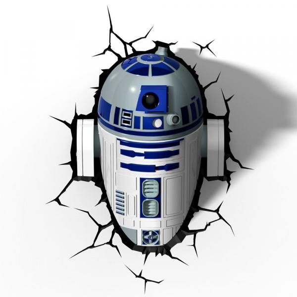 Star Wars - Luminária R2-D2 - Beek