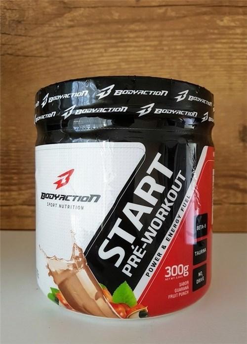 Start Pre-Workout 300G - Body Action (Guaraná Fruit Punch)