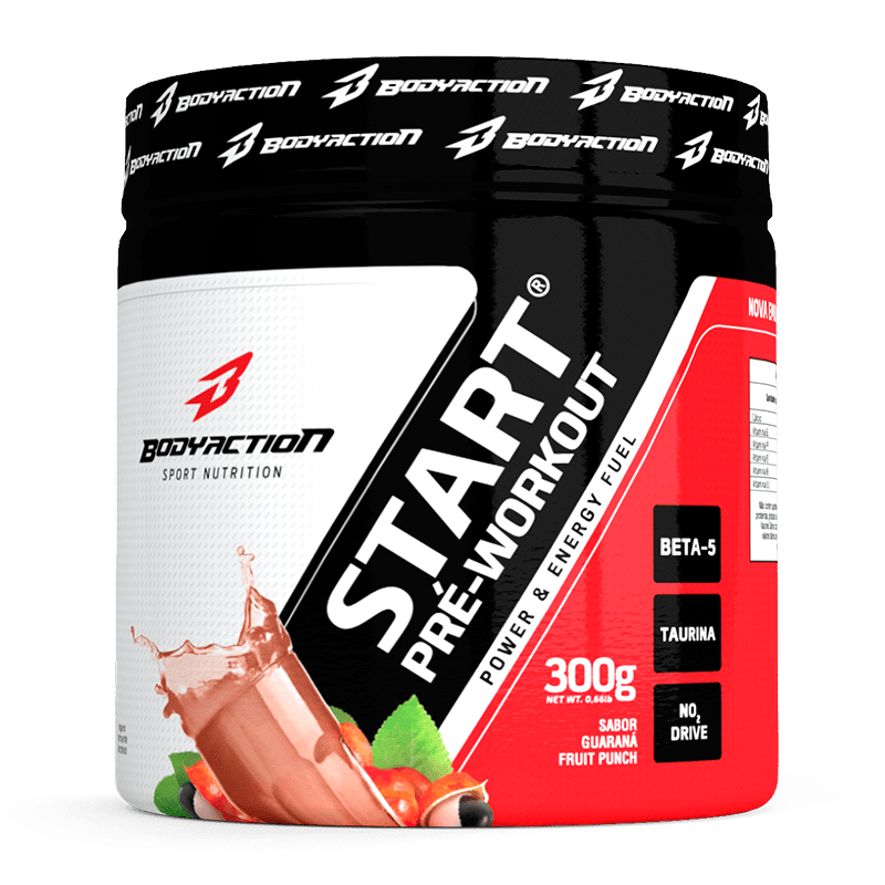 Tudo sobre 'Start Pré Workout (300g) Body Action'