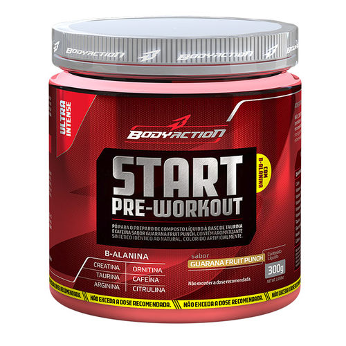 Start Pre-workout 300g Body Action