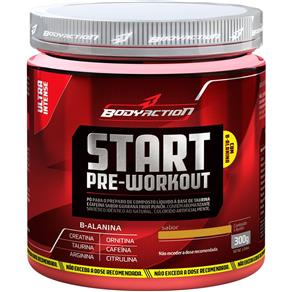 Start Pre Workout - Body Action - Fruit Punch - 300 G