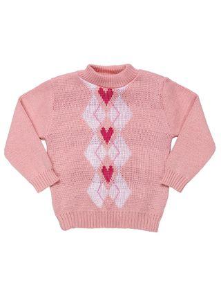 Tudo sobre 'Suéter Infantil para Bebê Menina - Rosa'