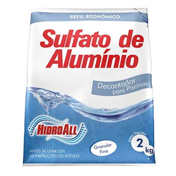 Sulfato Alumínio 2Kg Hidroall
