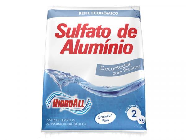 Sulfato de Alumínio Hidroall 2 Kg