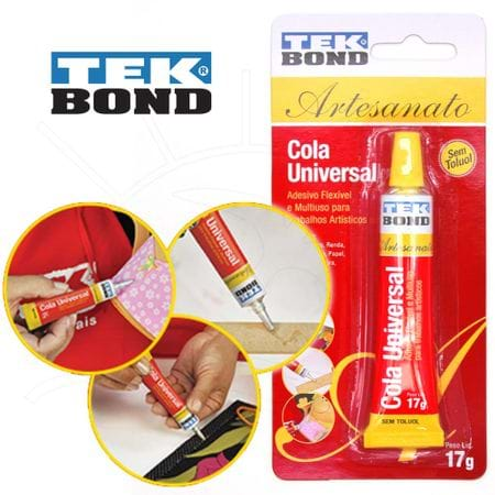 Tudo sobre 'Super Cola Universal TekBond'