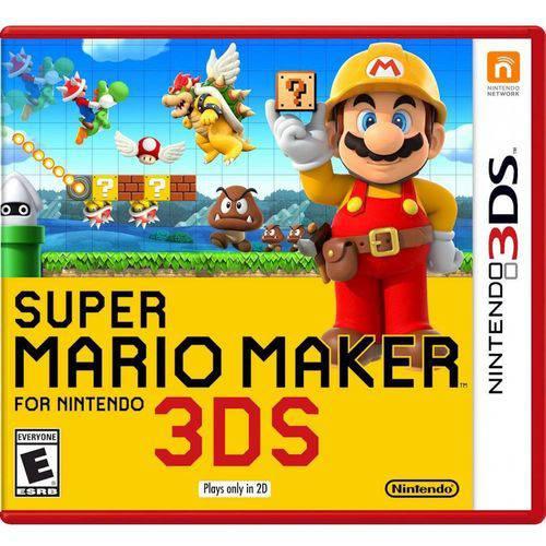 Tudo sobre 'Super Mario Maker - 3ds'