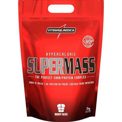 Super Mass Integralmdica Sabor Morango 3kg