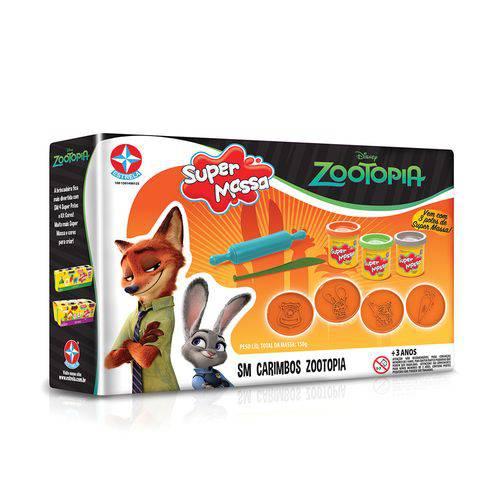 Tudo sobre 'Super Massa Carimbo Zootopia'