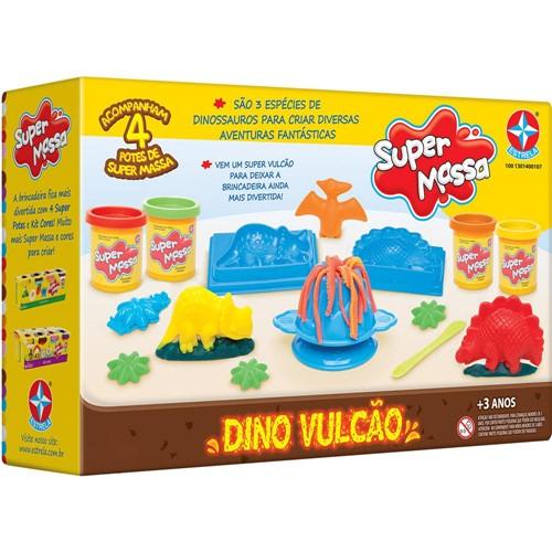 Tudo sobre 'Super Massa Dino Vulcao ESTRELA'