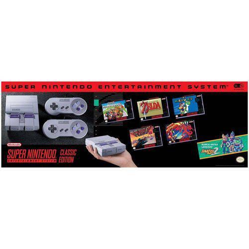 Tudo sobre 'Super NES Classic Edition'