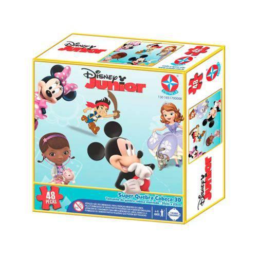 Tudo sobre 'Super Quebra Cabeça 3d Disney Jr'