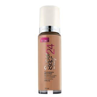 Super Stay 24H Maybelline - Base Facial Caramel Dark