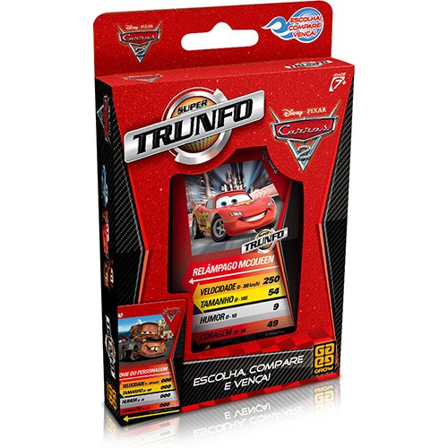 Super Trunfo Carros 2 GROW 02622-