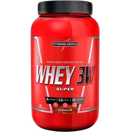 Tudo sobre 'Super Whey 3W Body Size Chocolate 907g - Integralmédica'