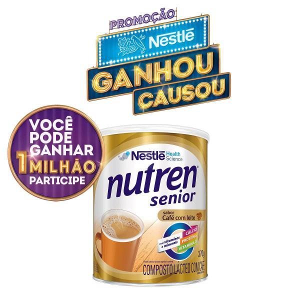 Suplemento Alimentar Nestlé Nutren Senior Café com Leite 370g