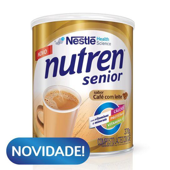 Suplemento Alimentar Nutren Senior Café com Leite 370g