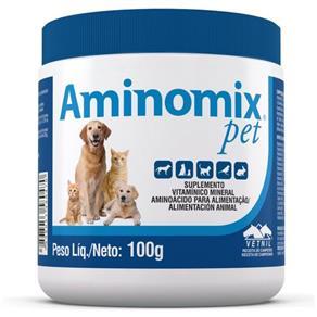 Suplemento Aminomix Pet Pó 100 G