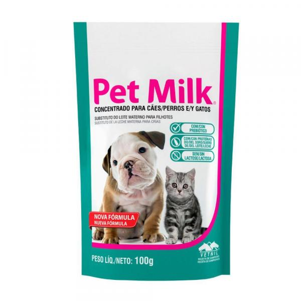Suplemento Substituto do Leite Materno Vetnil Pet Milk 100g